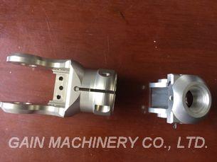 Aluminium Knuckle Acier de construction Travail complet de tournage (avec travail de fraisage)