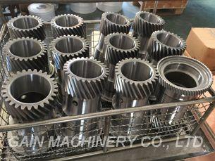 Gear Acier de cémentation / de traitement Roue cylindrique, roue droite cylindrique