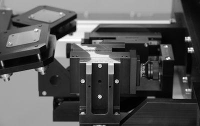 Auschnitt aus einer Kamerastation Mechanical engineering