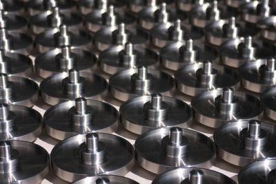 Ventilteller Stainless steel (rust-proof V4A) Full-range turning (including milling)